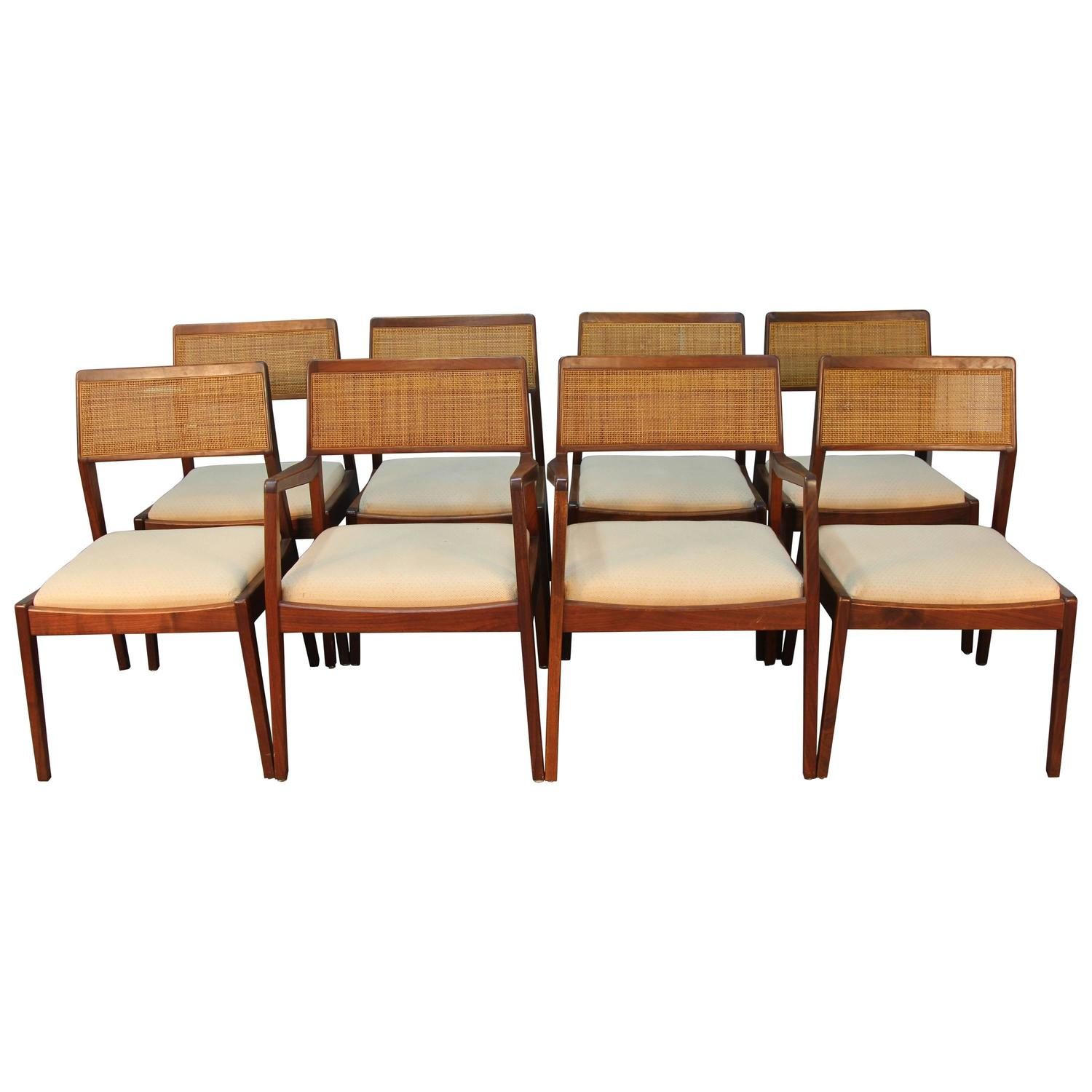 Set of eight jens risom dining chairs at 1stdibs - Jens risom dining chairs ...