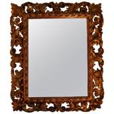 Carved Gilt Mirror, Napoleon III