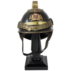 Antique Prussian or Austrian Late 19th Century Engineer's Helmet