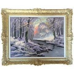 """The Frozen Stream"" by Laszlo Neogrady"