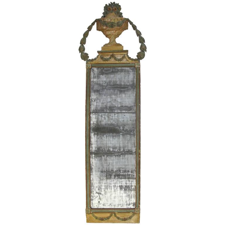Italian Painted Pier Mirror