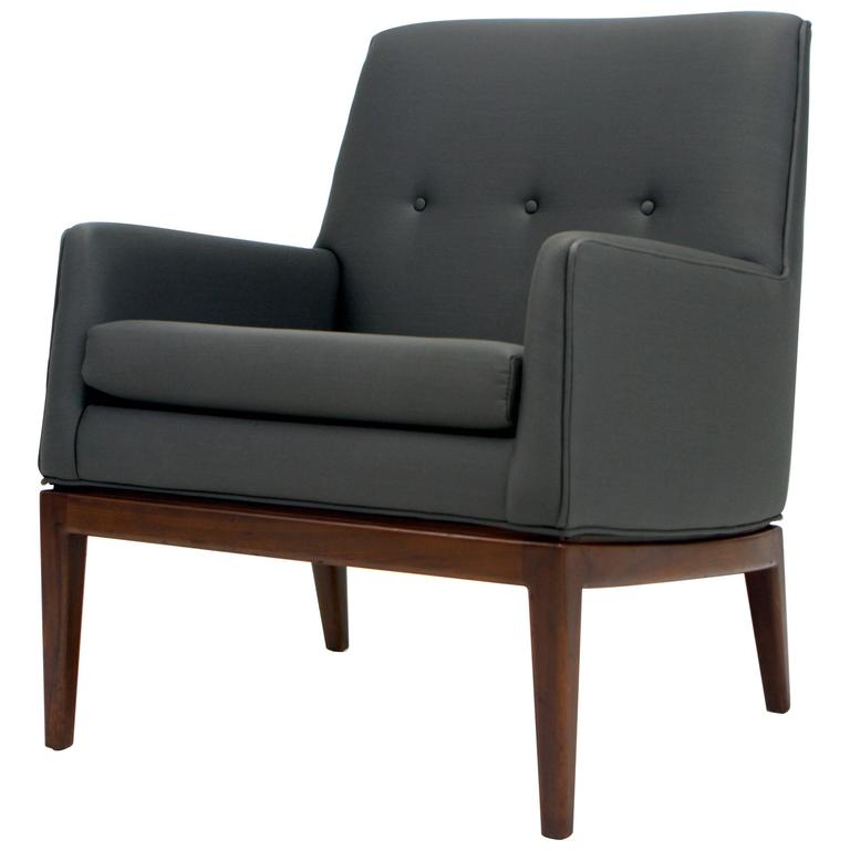 Jens Risom Petite Lounge Chair For Sale
