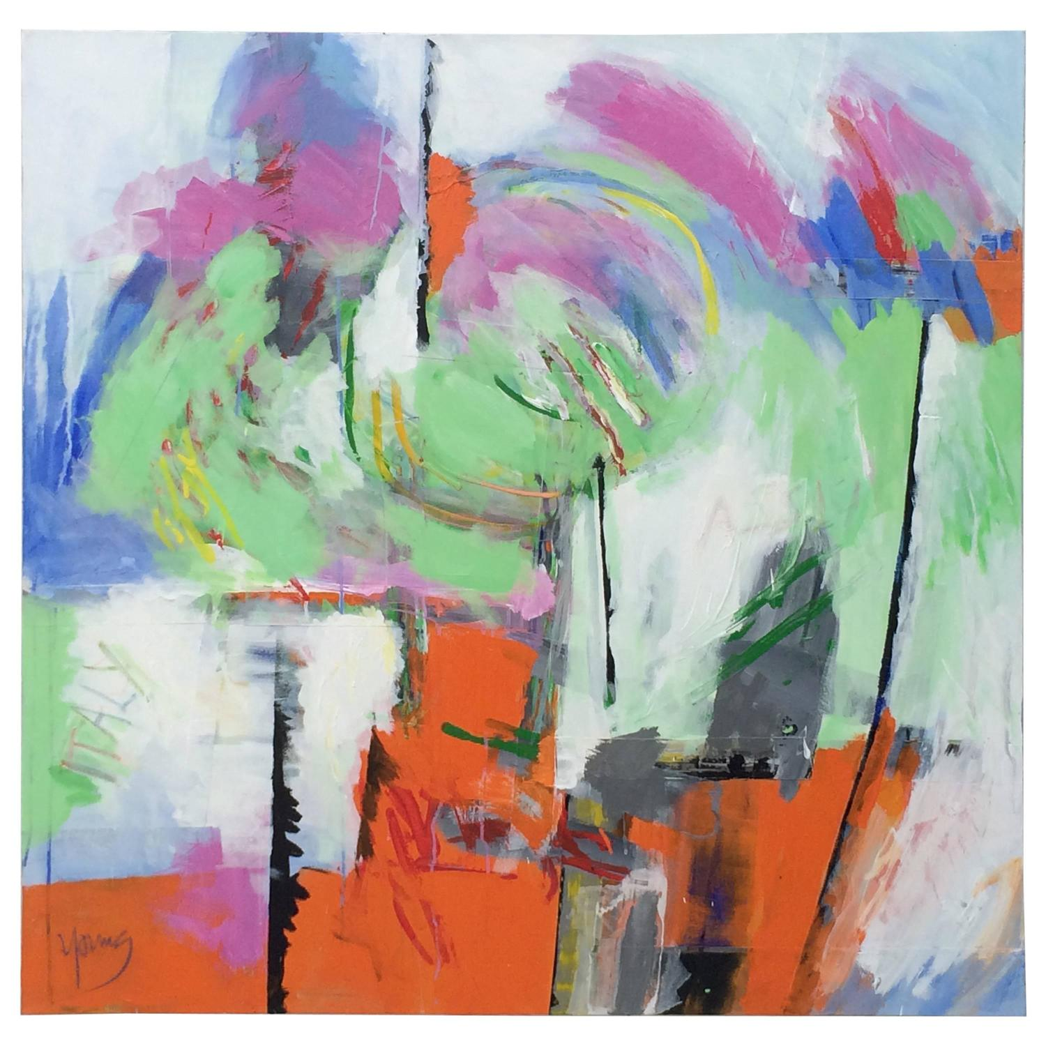 Original abstract painting untitled 2 by sean young for for Original abstract paintings for sale