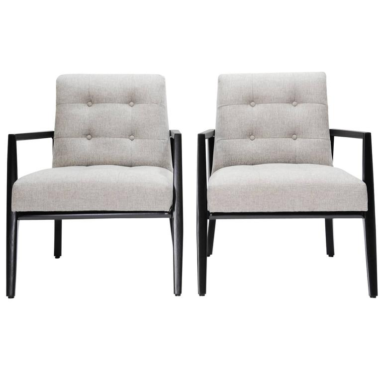Pair of Monteverdi-Young Club Chairs For Sale