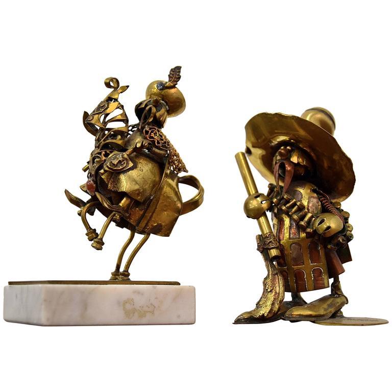 Mid-Century Figurative Art by Nowakowscy For Sale
