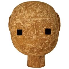 Rare Ceramic Claude Conover Head Sculpture