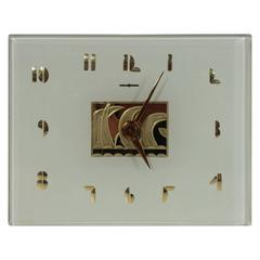 Art Deco John P. Rainbault Desk Clock for General Electric