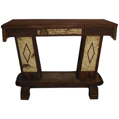 One Of A Kind Hand Made Artistic Desk