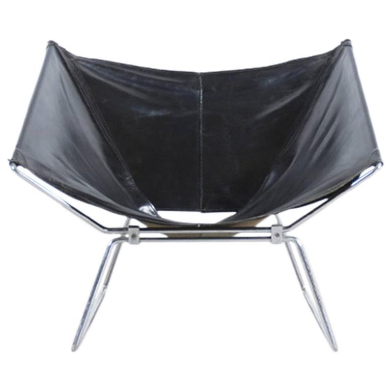 Rare Pierre Paulin Easy Chair Model AP-14 for AP Originals, 1954 1