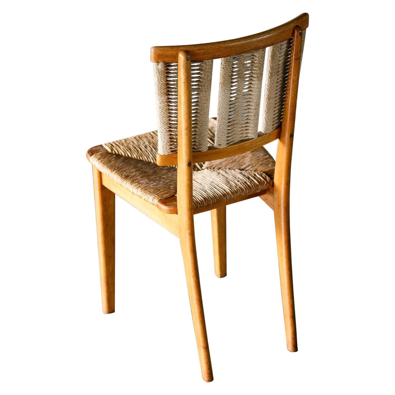 mart stam oak chair at 1stdibs. Black Bedroom Furniture Sets. Home Design Ideas