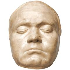 19th Century Beethoven Life Mask by Franz Klein