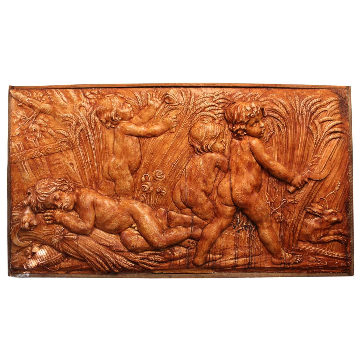 Bas Relief By Serge Roche Circa 1940 At 1stdibs