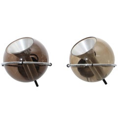 Globe Sconces by Frank Ligtelijn Edited by RAAK Amsterdam in the 1960s
