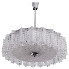 Austrian Glass Austrolux Chandelier