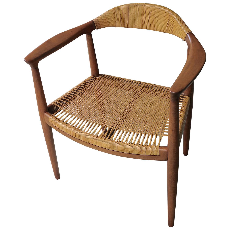 1950 hans wegner the chair at 1stdibs. Black Bedroom Furniture Sets. Home Design Ideas