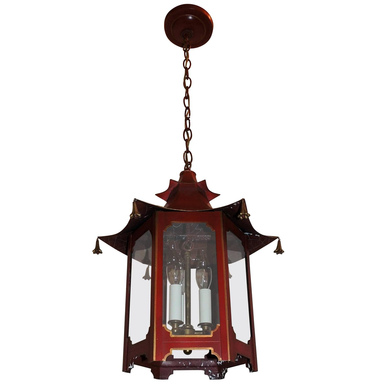 Vintage chinoiserie red gold gilt pagoda lantern fixture chandelier vintage chinoiserie red gold gilt pagoda lantern fixture chandelier at 1stdibs arubaitofo Choice Image