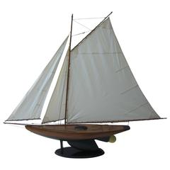 Large Sailboat Model