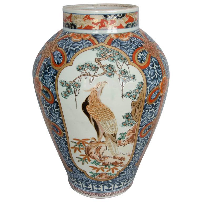 Late 17th Century Japanese Imari Vase
