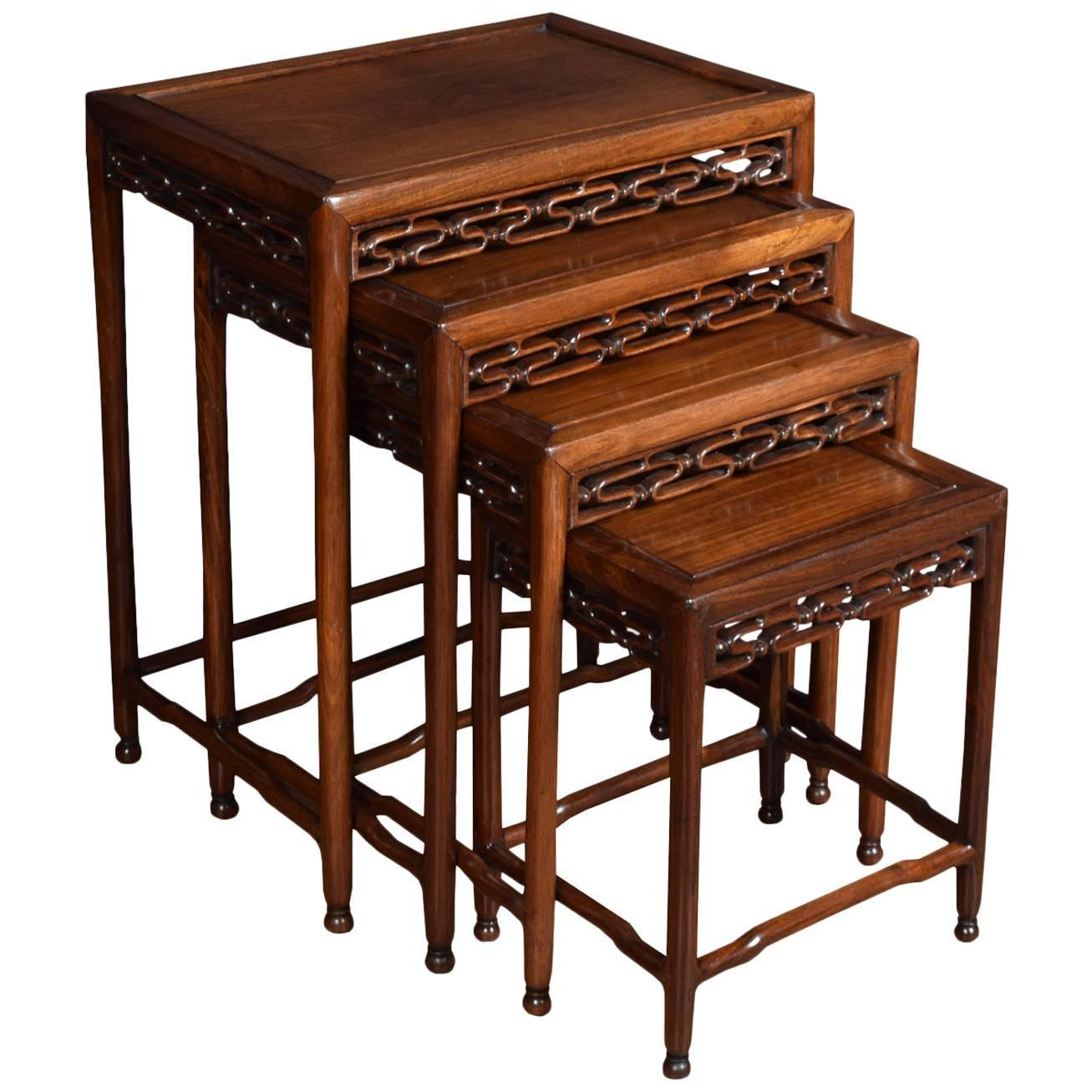 2444 top of the line chinese nesting tables rantuk just 1307x1307 chinese nest of four tables for sale at 1stdibs image aa5221 top of the watchthetrailerfo