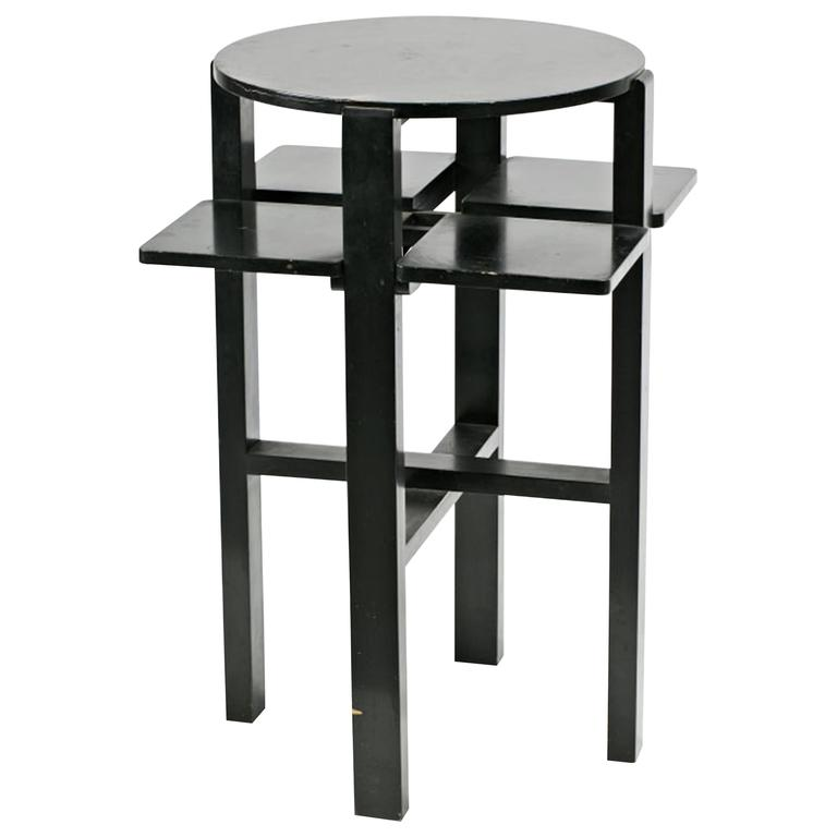Charles Rennie Mackintosh Domino Side Table For Sale At 1stdibs