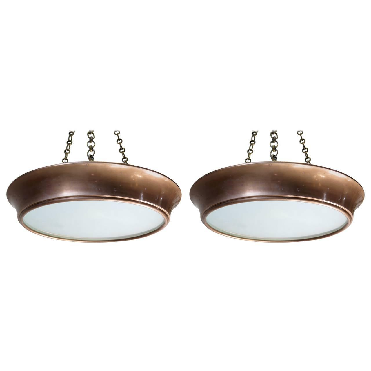 Round Hanging Light Fixture