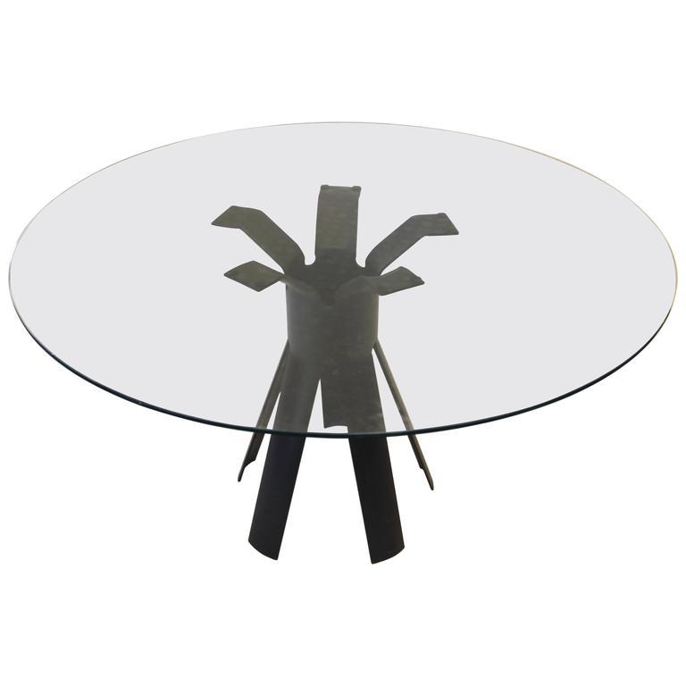 "Angelo Mangiarotti, Dining Room Table, Model ""Longobardo,"" circa 1970, Italy"