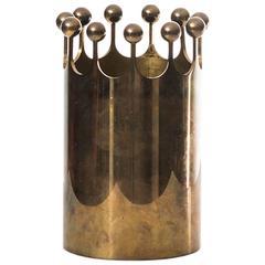 Pierre Forsell Vase in Brass by Skultuna in Sweden