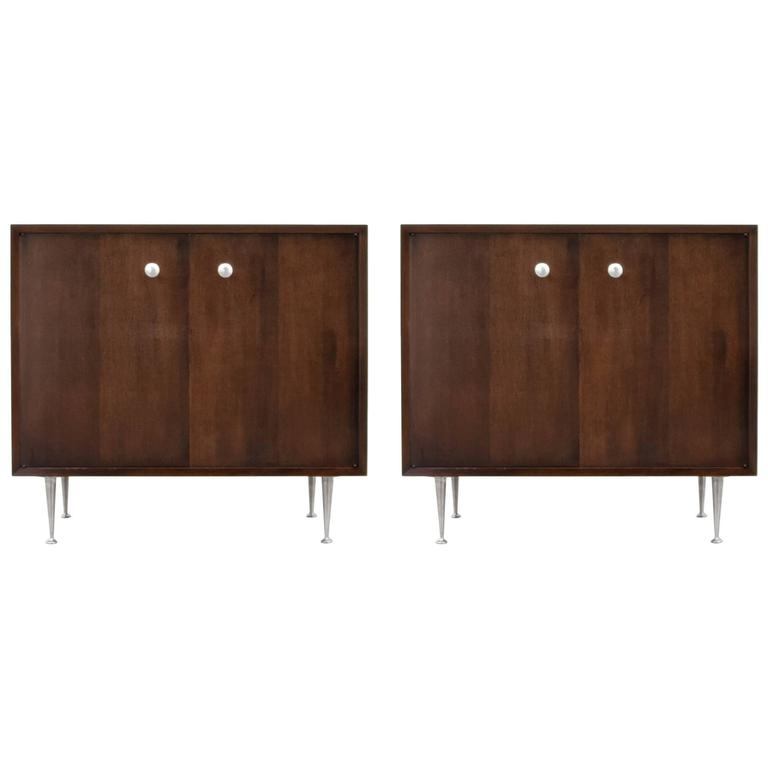"George Nelson ""Thin Edge"" Cabinets"
