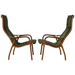 Rare 40th Anniversary (1996) Limited Editions Lamino Chairs by Yngve Ekstrom