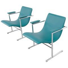 Pair of Easy Chairs Oslo by Rudi Verelst for Novalux