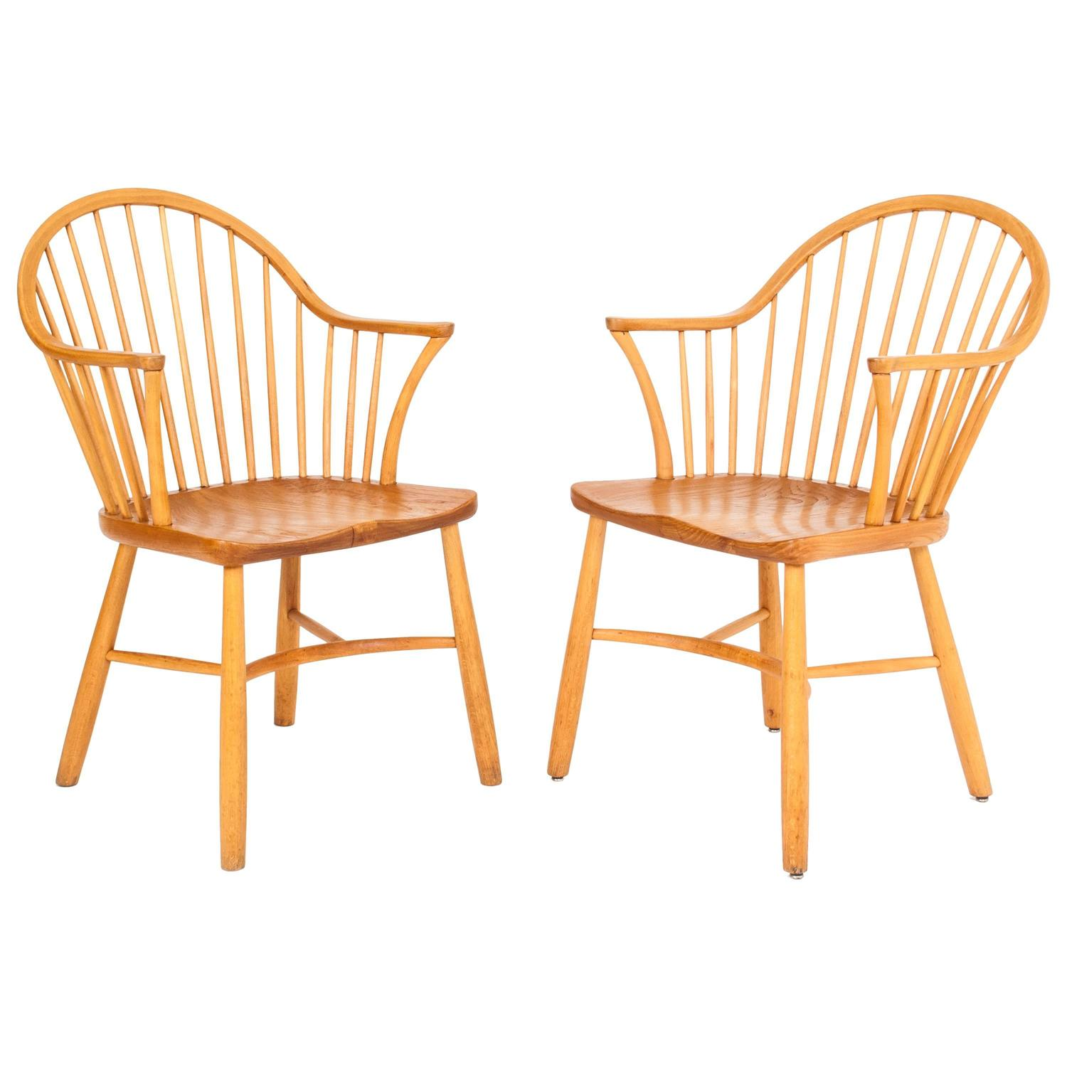 Palle Suenson Windsor Chairs For Sale at 1stdibs