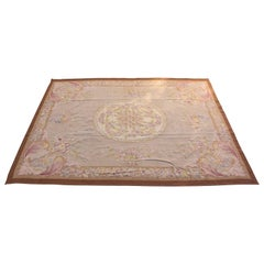 French Aubusson Style Rug