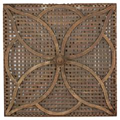 Arts and Crafts Lattice Architectural Element