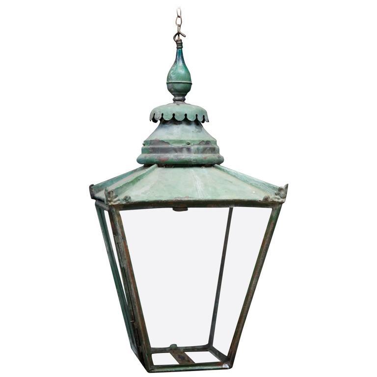 Copper Gas Lanterns At 1stdibs