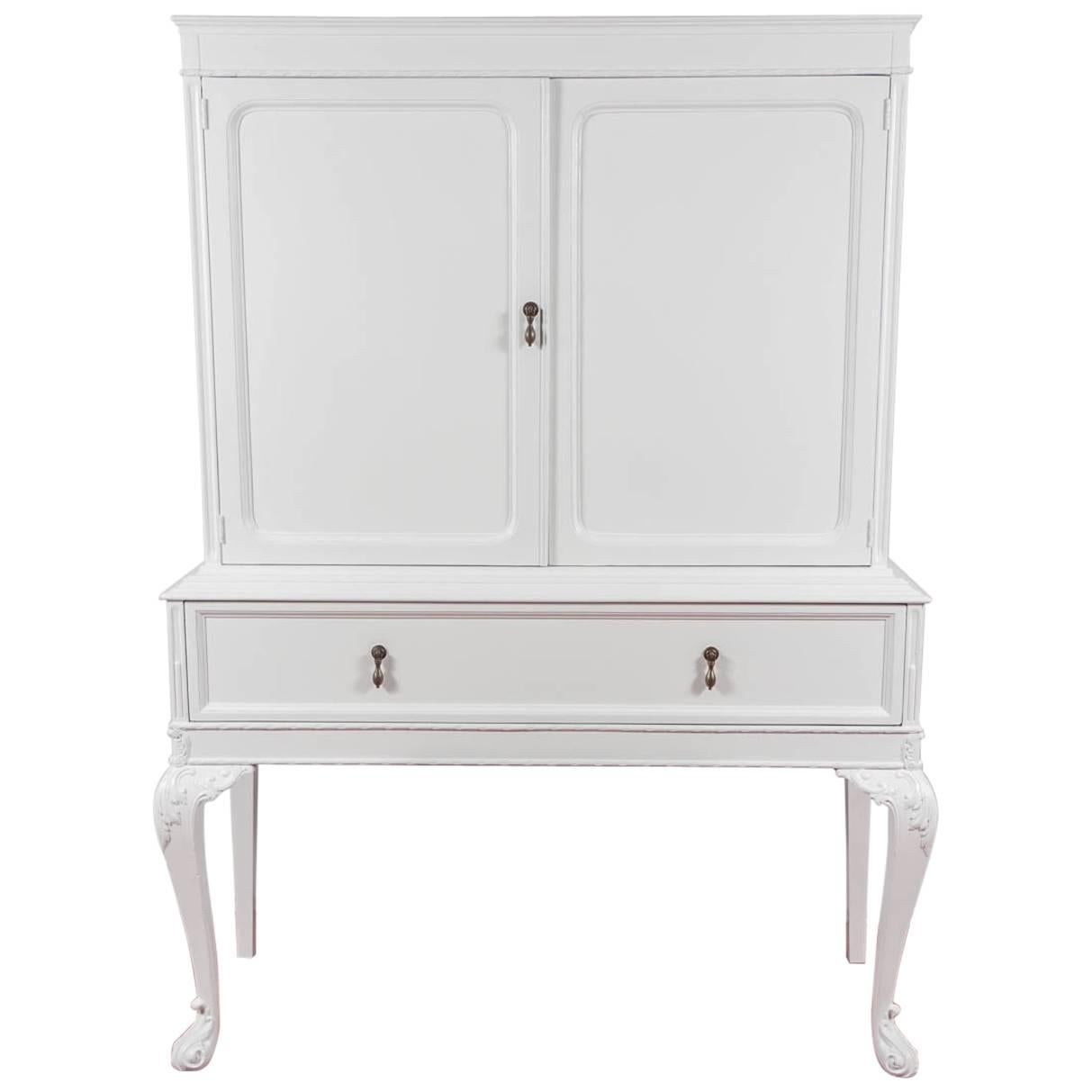 Chippendale-Style China Cabinet