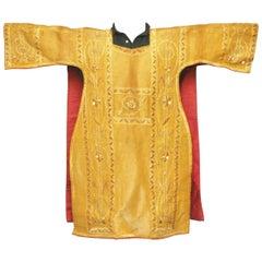 19th Century Religious Silk Vestment