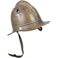 Antique WWI French Infantry Helmet