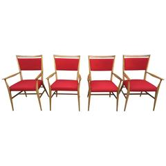 Four Connoisseur Dining Chairs by Paul McCobb