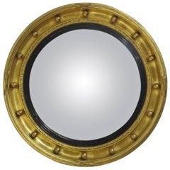 Regency Style Convex Mirror, 19th Century English