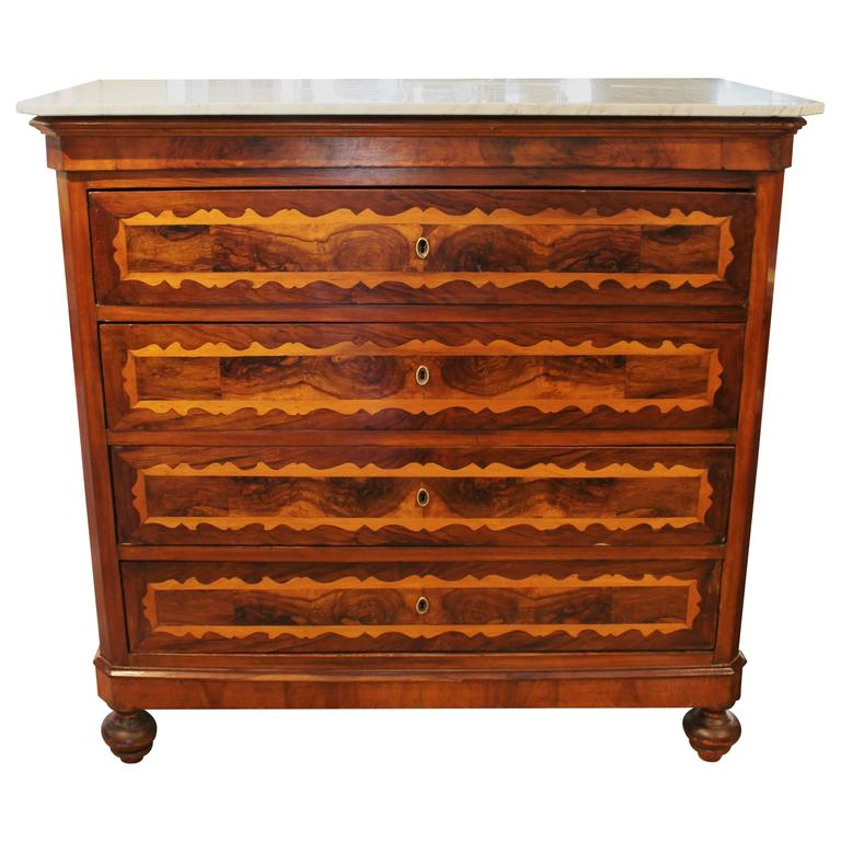 18th Century Italian Provincial Chest of Drawers or Dresser
