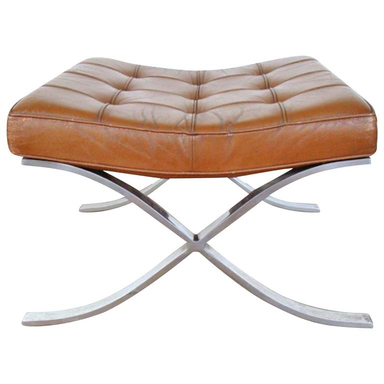 Attrayant Vintage Knoll Barcelona Ottoman For Sale