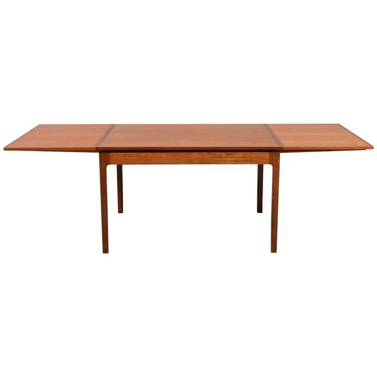 1940s mahogany dining table attributed to danish designer jacob kjaer