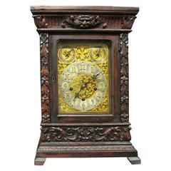 Tiffany & Co. Oak Case Mantel Clock, circa 1900