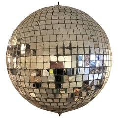 1970s Disco Ball from Club 12 West, NYC