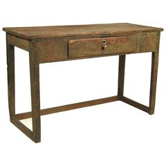 Early Canadian Painted Table