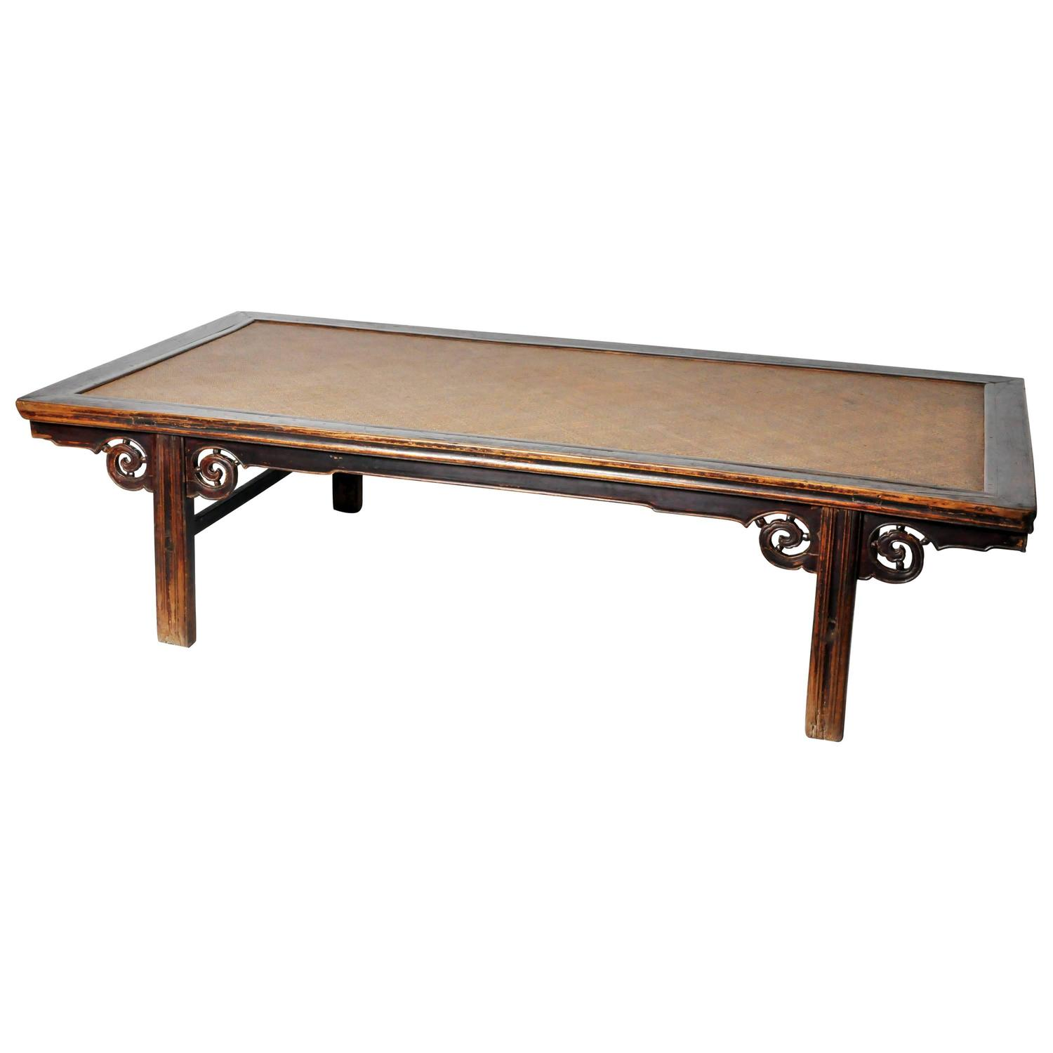 chinese kang table or daybed at 1stdibs