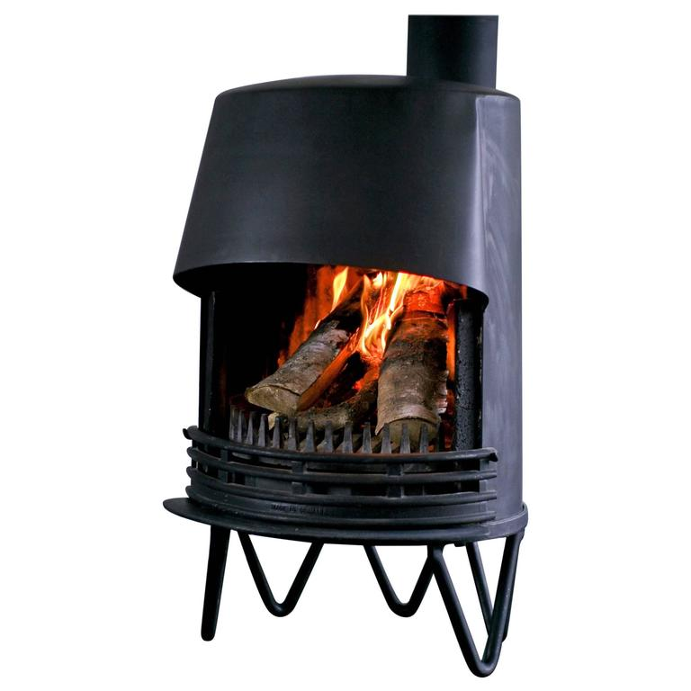 Mid Century Modern Danish Fireplace For Sale At 1stdibs