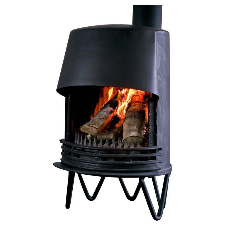 Mid Century Modern Fireplace: Mid Century Modern Danish Fireplace For Sale At 1stdibs