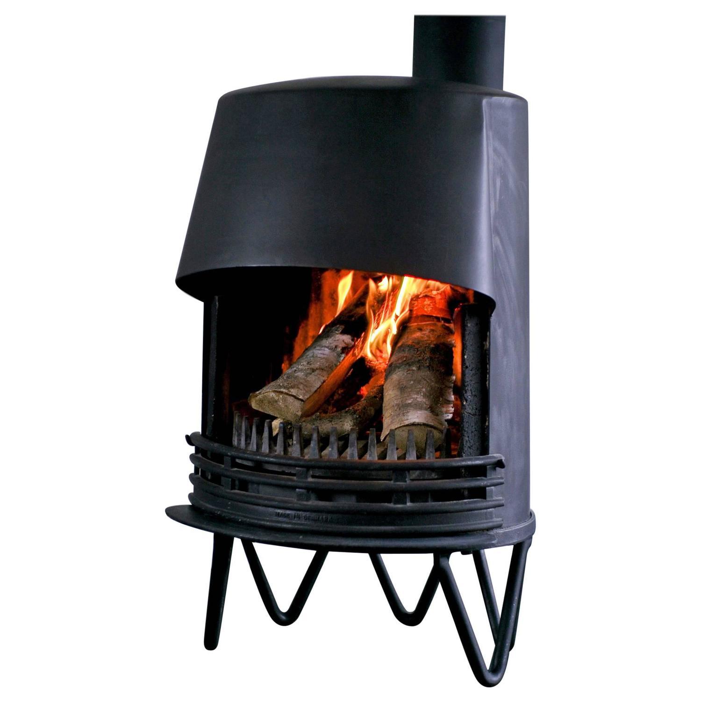 mid century modern danish fireplace for sale at 1stdibs. Black Bedroom Furniture Sets. Home Design Ideas