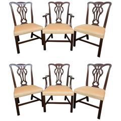 Chippendale Dining Room Chairs 66 For Sale at 1stdibs